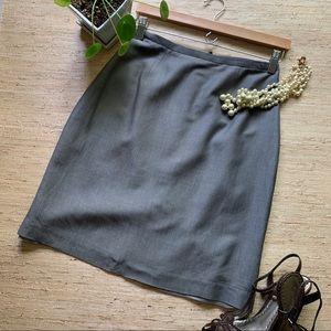 Banana Republic Gray Pencil Skirt - 6